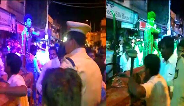 'ಬನಾಯೆಂಗೆ ಮಂದಿರ್' ಹಾಡು ಹಾಕಿದ್ದಕ್ಕೆ ಮುಸ್ಲಿಂ ಯುವಕನಿಂದ ಗಲಾಟೆ